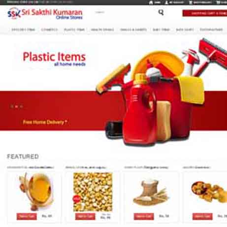 Sri Sakthi Kumaran Stores | website development | chennai | india
