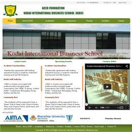Kodai International Business School | KIBS Edu | Chennai | erp design