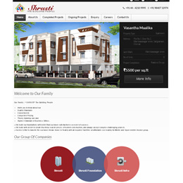shrusti|ecommerce website development|Mobile App Development|web design and web hosting and website designing