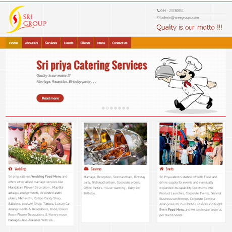 Sreegroups |Web development |chennai India