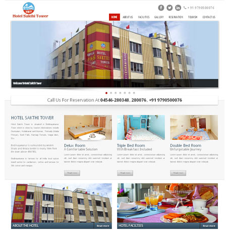 Hotelsakthitower | ecommerce |web design in chennai india