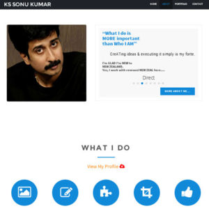 kssonukumar | web design in chennai