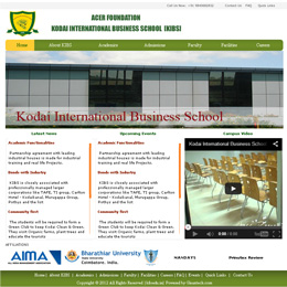 Kodai International Business School | KIBS Edu | Chennai | erp design